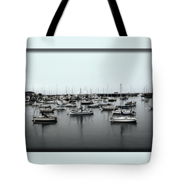 At The Bay  Tote Bag