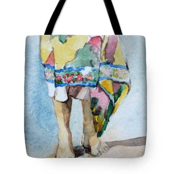 At The Beach 1  Tote Bag by Becky Kim