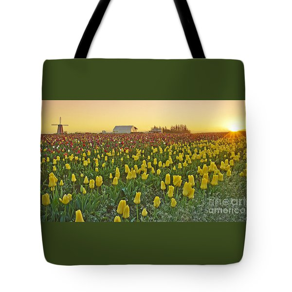 At The Crack Of Dawn Tote Bag
