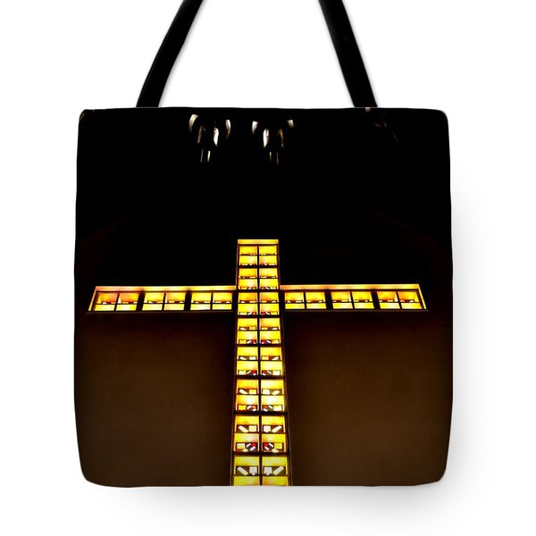 Tote Bag featuring the photograph At The Cross by Deena Stoddard