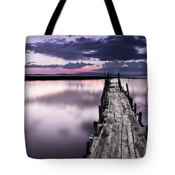 At The End Tote Bag