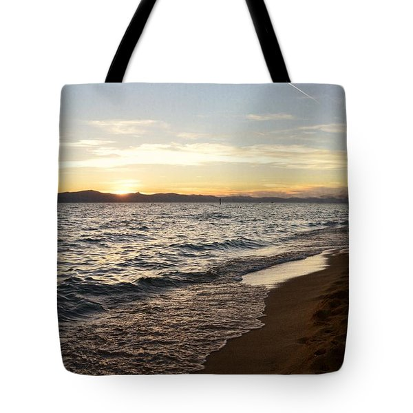 At The End Tote Bag by Leah Moore