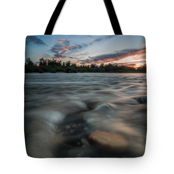 At The End Of The Day Tote Bag by Davorin Mance