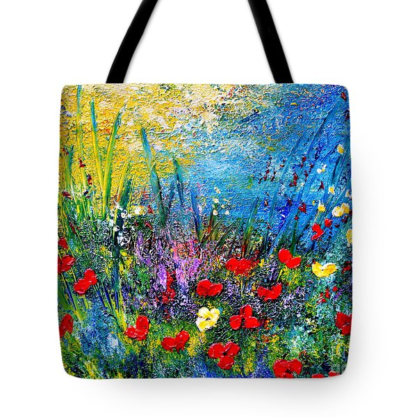 At The End Of The Day Tote Bag by Teresa Wegrzyn