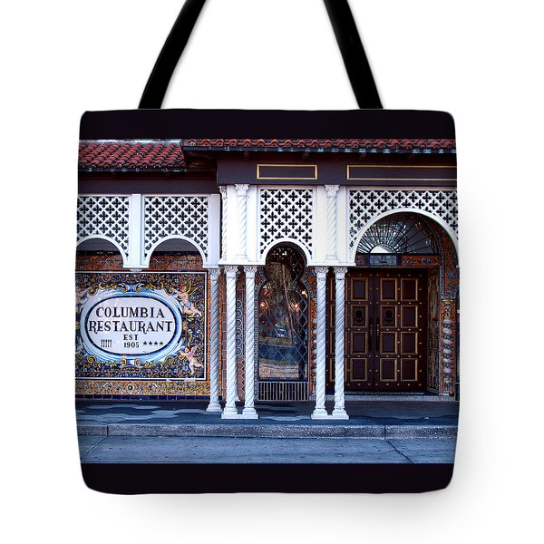 At The Entrance Tote Bag