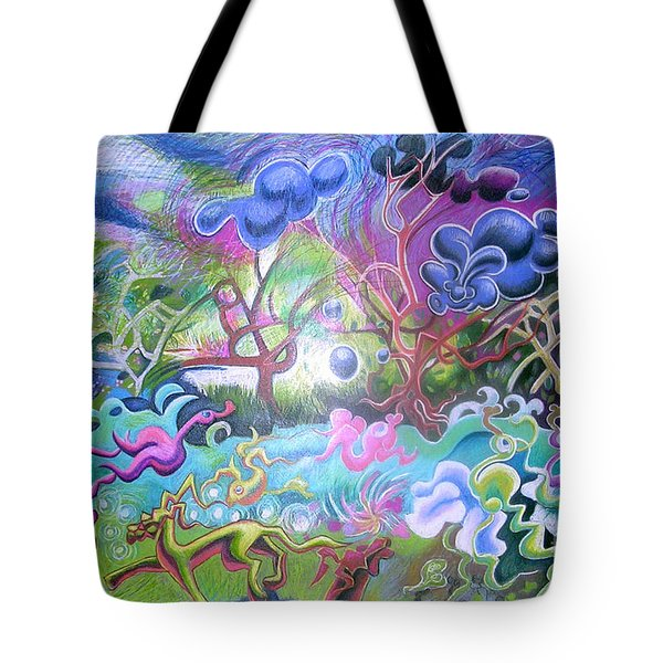 At The Equator Tote Bag by Genevieve Esson