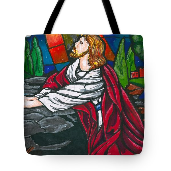 At The Garden Tote Bag by Bill Richards