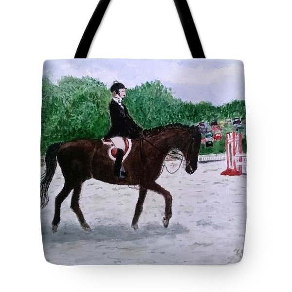 At The June Fete Tote Bag