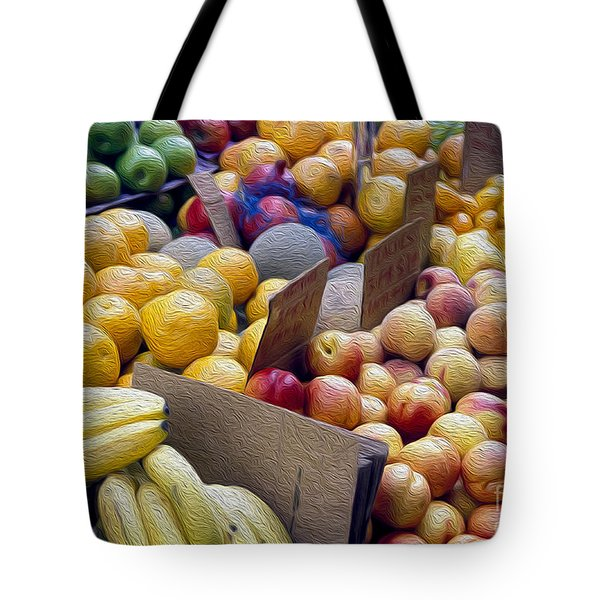 At The Market Tote Bag by Jon Neidert