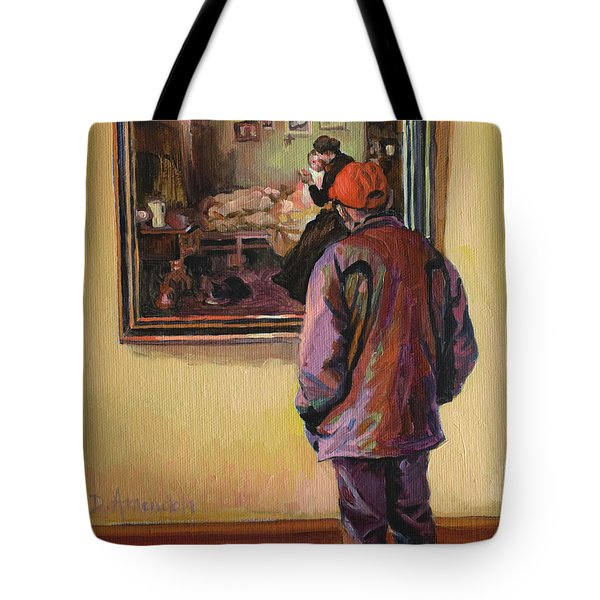 At The Museum Tote Bag by Dominique Amendola