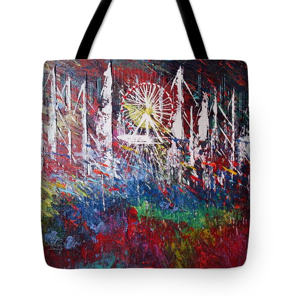 At The Top Tote Bag