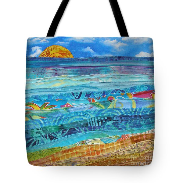 At The Water's Edge Tote Bag by Susan Rienzo