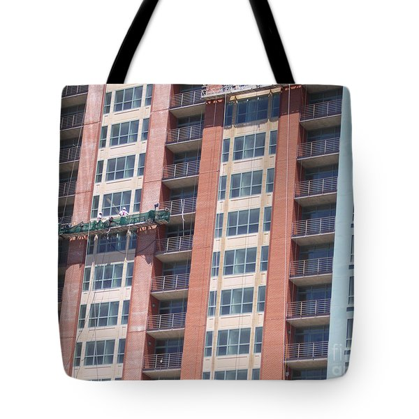 At Work Tote Bag by First Star Art