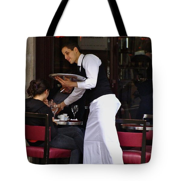 Tote Bag featuring the photograph At Your Service by Ira Shander
