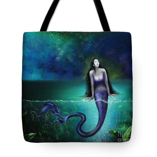 Tote Bag featuring the painting Atargatis by S G