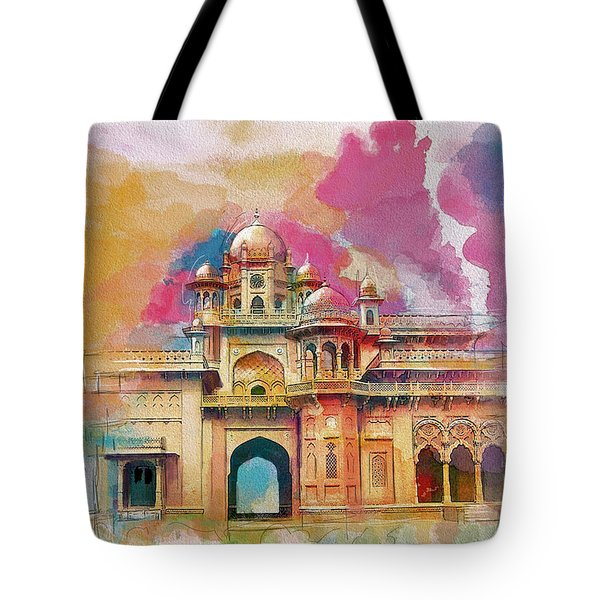 Atchison College Tote Bag by Catf