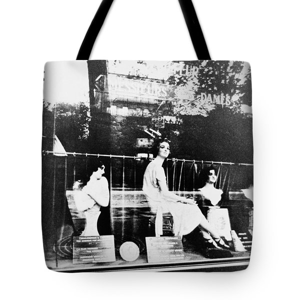 Tote Bag featuring the photograph Atget Hairdresser, C1920 by Granger