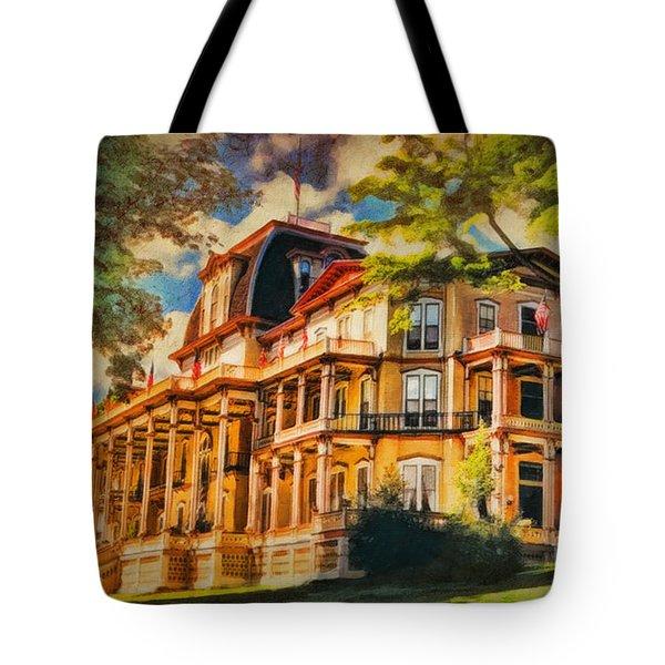 Athenaeum Hotel - Chautauqua Institute Tote Bag