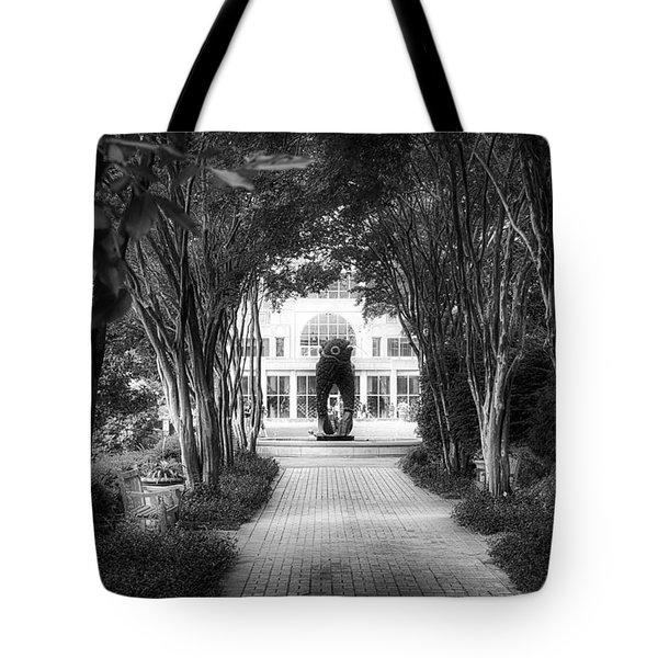 Atlanta Botanical Garden-black And White Tote Bag