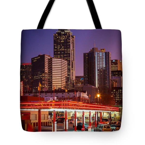 Atlanta Drive-in Tote Bag by Inge Johnsson