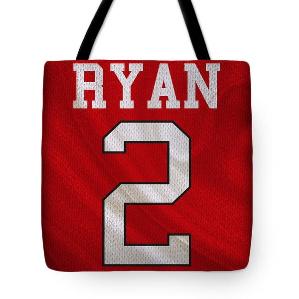 Atlanta Falcons Matt Ryan Tote Bag