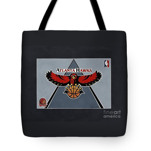 Atlanta Hawks T-shirt Tote Bag