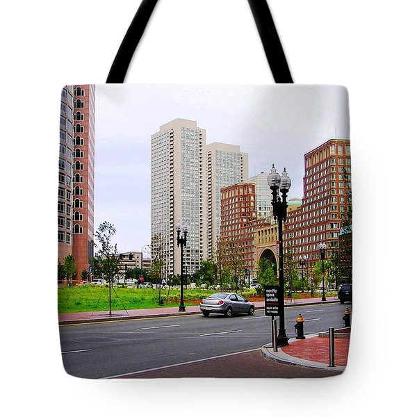 Atlantic Avenue Tote Bag