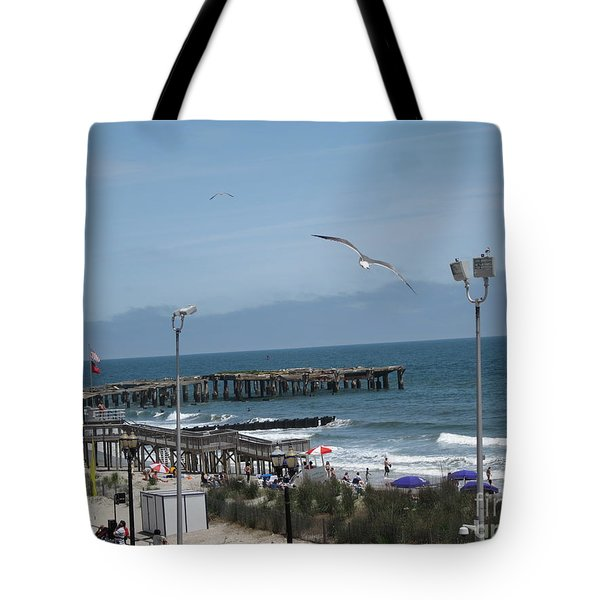 Tote Bag featuring the photograph Atlantic City 2009 by HEVi FineArt