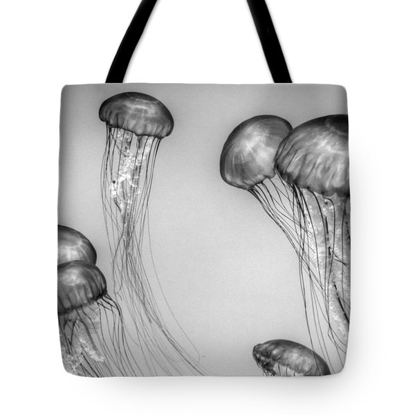 Atlantic Jellyfish - California Monterey Bay Aquarium Tote Bag