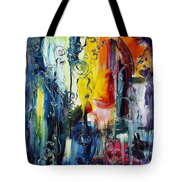 Atlantis Sinking Tote Bag