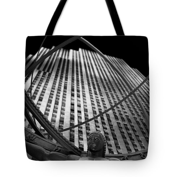Atlas Rockefeller Center Tote Bag