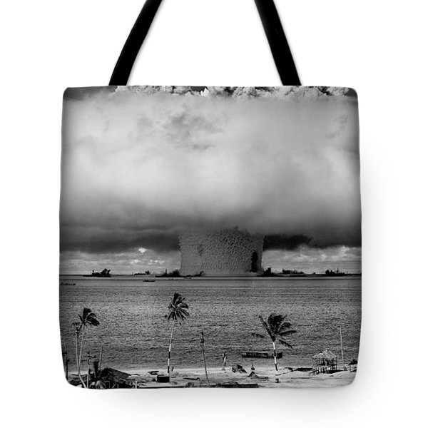 Atomic Bomb Test Tote Bag by Mountain Dreams