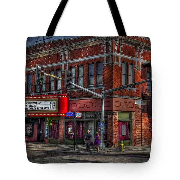 Atomic Wednesdays Tote Bag by Marvin Spates