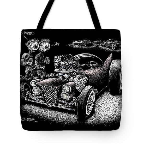 Atomic Weirdness Tote Bag