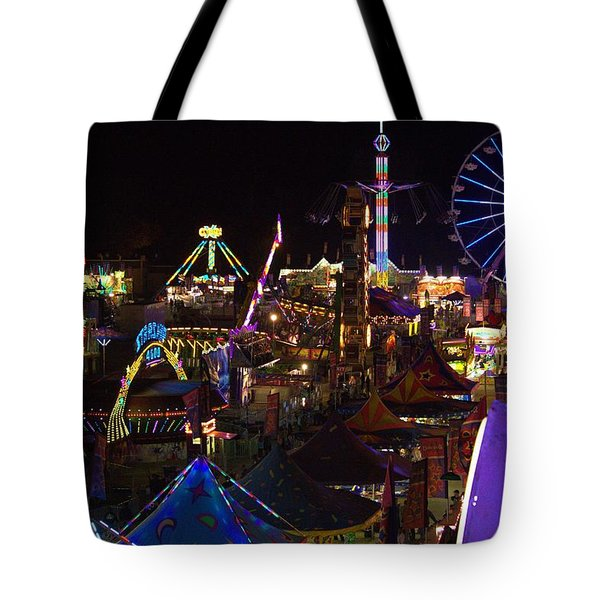 Atop The Carnival Tote Bag