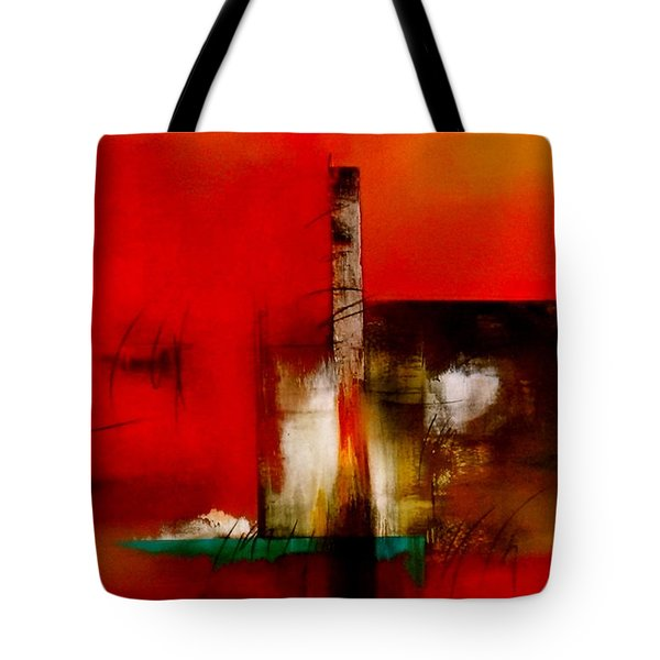 Atracando Tote Bag by Thelma Zambrano