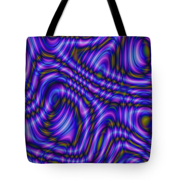 Tote Bag featuring the digital art Atracareis by Jeff Iverson