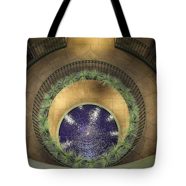 Atrium Wishing Well Tote Bag by Lynn Palmer