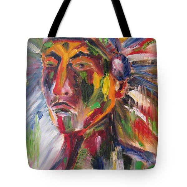 Atsila, Native American Tote Bag