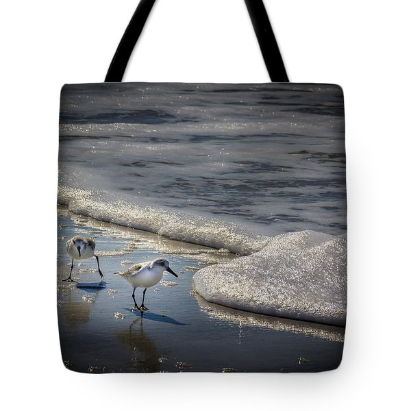 Attack Of The Sea Foam Tote Bag