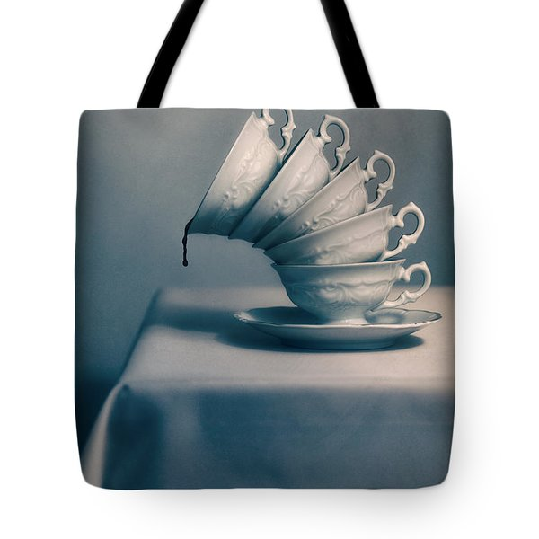 Tote Bag featuring the photograph Attention  by Jaroslaw Blaminsky