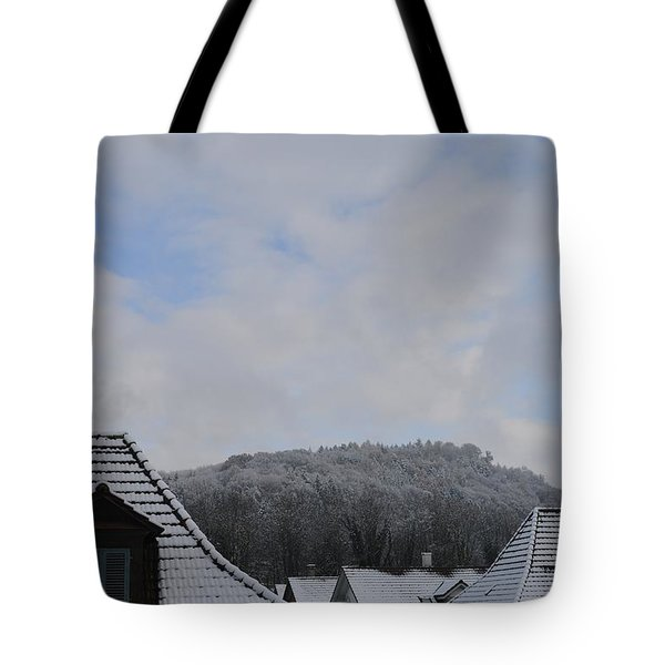 Tote Bag featuring the photograph Attic Windows Open To The Sky by Felicia Tica