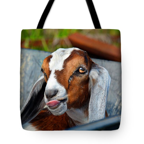 Attitude Is Everything Tote Bag by Savannah Gibbs