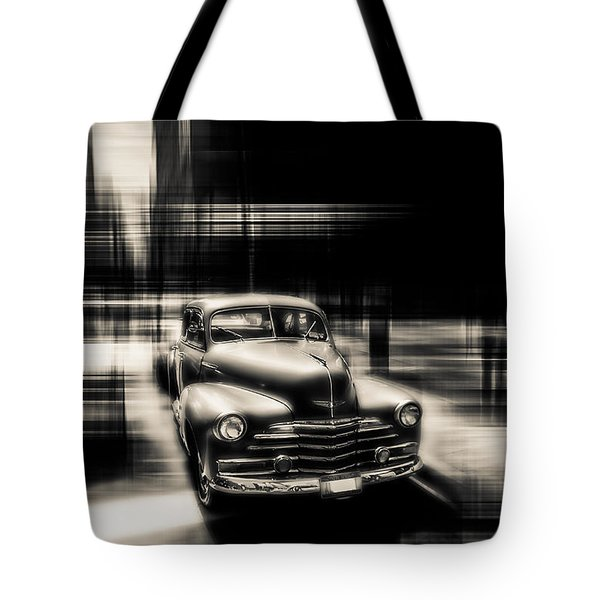 attracting curves III gray Tote Bag by Hannes Cmarits