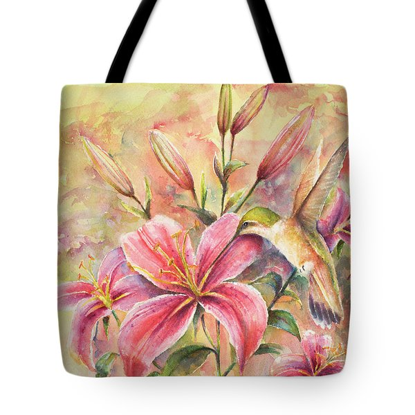 Attractive Fragrance Tote Bag