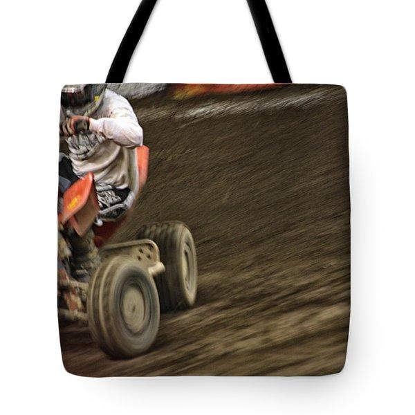 Atv Speed Tote Bag by Karol Livote