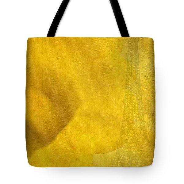 Au Coeur De La Jonquille Tote Bag by Lisa Knechtel
