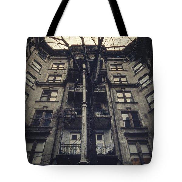 Au Revoir Tote Bag by Taylan Apukovska