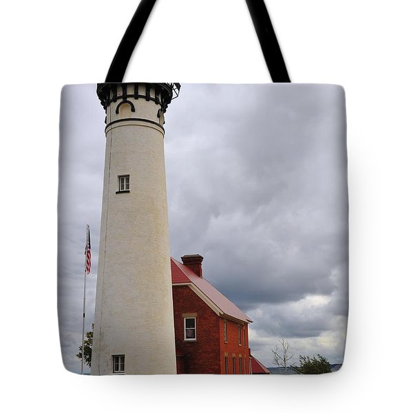 Au Sable Point Light Tote Bag