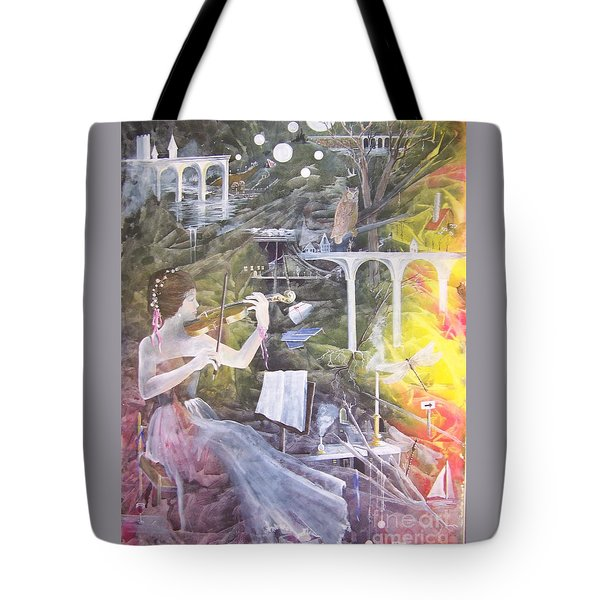 Aubry's Nocturne Tote Bag